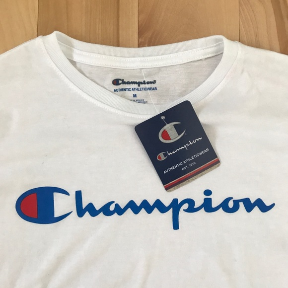 756ad408f Champion Shirts & Tops | Nwt Long Sleeve Tee Kids Shirt | Poshmark